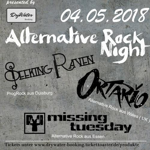 Tickets kaufen für Alternative Rock Night in Essen  am 04.05.2018
